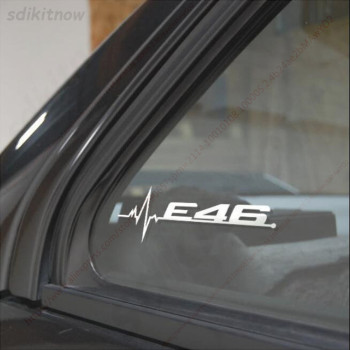 New White Car Sticker Windows Door Performance Decal Styling For BMW E28 E30 E34 E36 E37 E38 E39 E39 E46 E60 E80 E90 F10 F20 F30 image