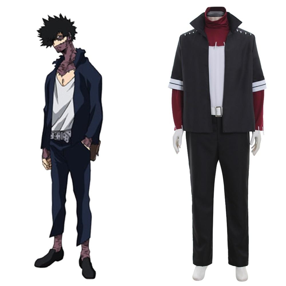 Boku no Hero Academia My Hero Academia Dabi Shouto Cosplay Costume Adult Men Halloween Costume Casual Sportswear Custom Made