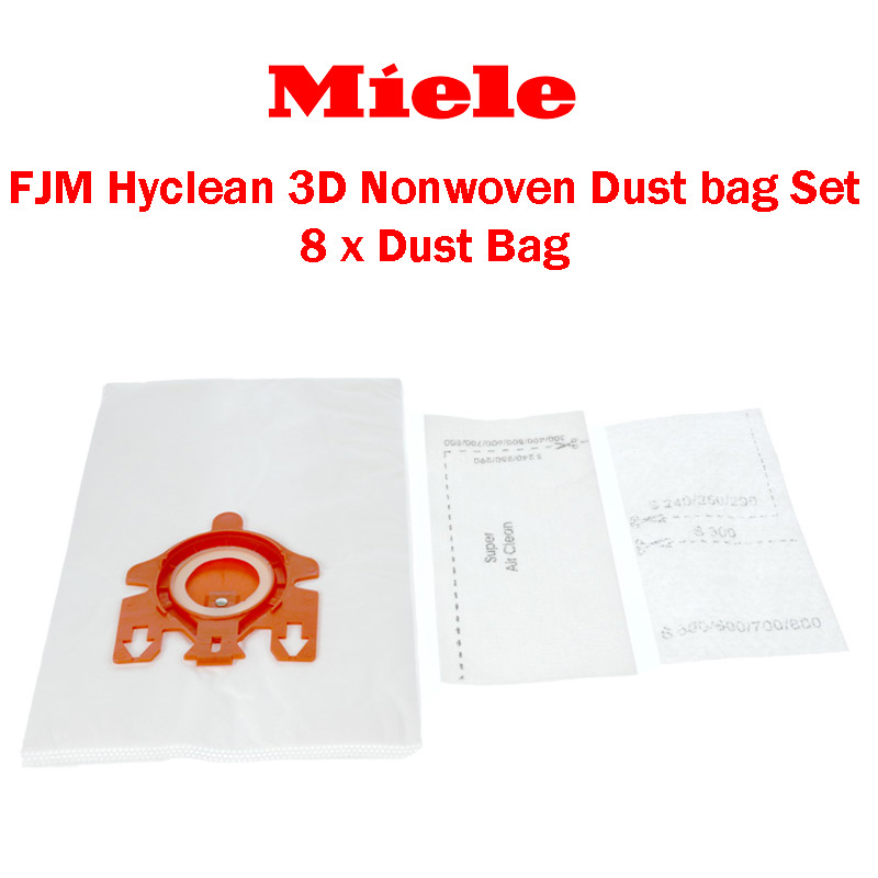 40 Vacuum Cleaner Bag Dust Bag-Professional Suitable for Miele Medic Air S 800 S 83