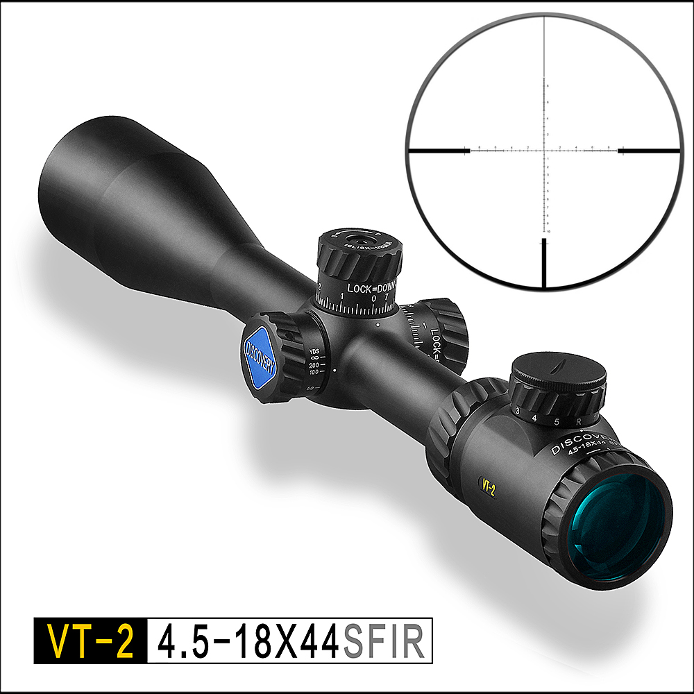 Découverte de Tir VT-2 4.5-18X44SFIR numérique différenciation tactique optique sniper miroir extérieur rouge et vert de vue la lumière