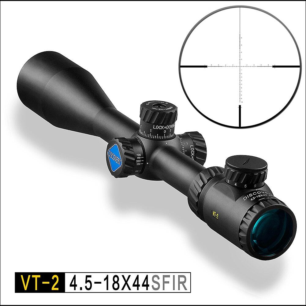 Descoberta VT-2 4.5-18X44SFIR digital diferenciação tático Riflescope atirador óptico espelho visão de luz ao ar livre vermelho e verde