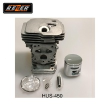 Цилиндр с поршнем HUS-450 Rezer для бензопилы