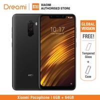 Global Version Xiaomi Pocophone F1 64GB ROM 6GB RAM (Brand New and Sealed) poco f1 64gb