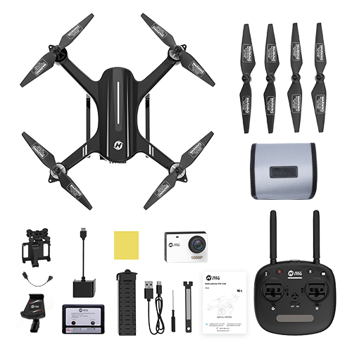 USA EU Stock Holy Stone HS700 GPS Drone 1080P Camera 1000 meters Flight Brushless Motor 5G
