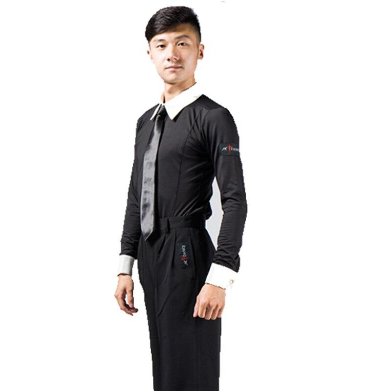 8e6b33a90 € 55.36 |Profesión moderna hombres bailando Slim largo traje de ropa Danca  Oriente Adulto Latina adecuado para el rendimiento y la práctica DWY469 ...