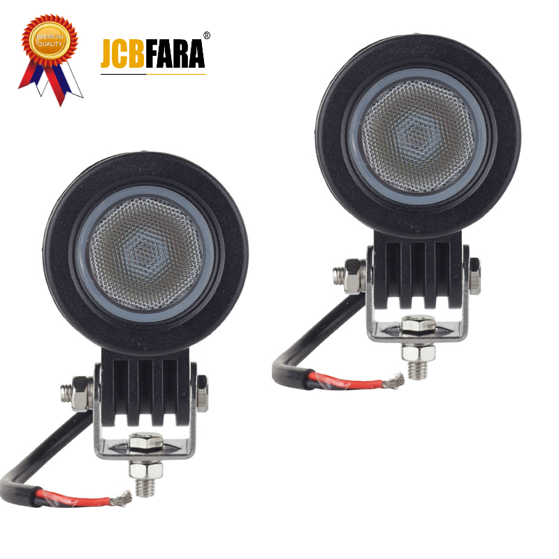 10 w LED Travail Lumière 2 pouce 12 v 24 v Car Auto SUV ATV 4WD AWD 4X4 off road LED Conduite Lampe Moto Camion Phare