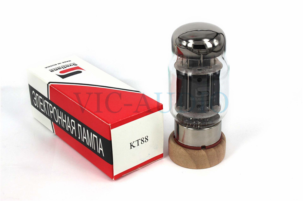 1Piece Russia Tube New SVETLANA KT88 Vacuum Tube Replace 6550 KT88-98 KT100 Electron Tube Free Shipping 1piece new psvane tube wr50 tube 4pins tube free shipping