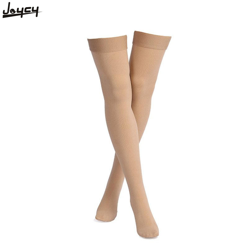Hot Sale Thigh-high Medical Compression Stockings Pressure Varicose Vein Stocking Leg Relief Pain Closed Toe Fitness Socks Yoga Fitness & Body Building