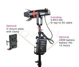 Image 3 - 2 Pcs CAME TV Q 55W Boltzen 55w High Output Fresnel Focusable LED Daylight Kit Led video light