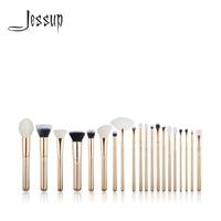 NEW Jessup Brush 20PCS Golden/ Rose Gold Makeup brushes set Beauty tools Make up brush POWDER FOUNDATION LIP BLENDING