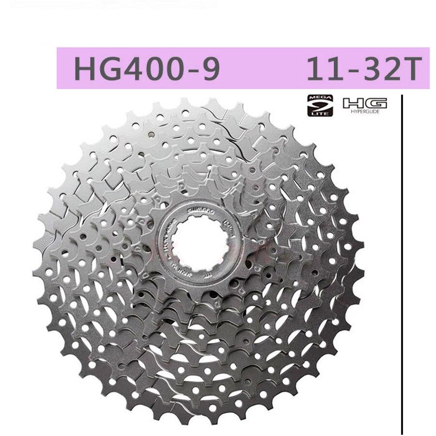 Image 4 - SHIMANO ALIVIO CS HG400 K7 MTB Mountain Bike Bicycle parts 9S Cassette Freewheel 9/27 Speeds Sprocket Tape 11 32/34/36T-in Bicycle Freewheel from Sports & Entertainment