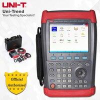 UNI T UT285A трехфазный Мощность анализатор качества; Напряжение/ток/частота, гармоничный, пусковой, мощность энергии и тесты