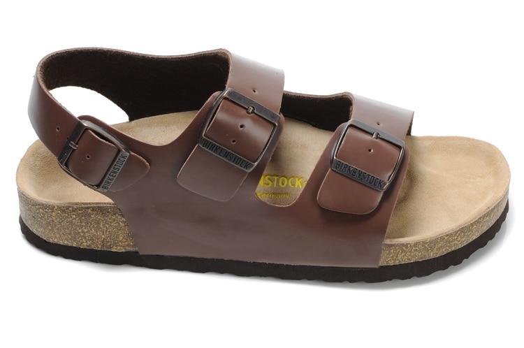 2018 Original Nueva Llegada Zapatillas de Playa Birkenstock Milano - Zapatos de hombre - foto 5