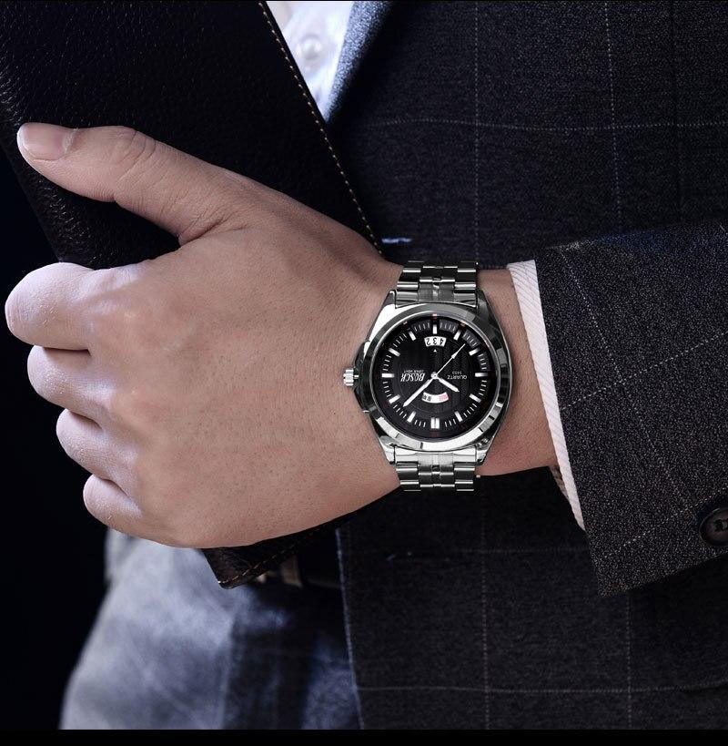 Hommes Cadeaux Brève Design Noir Bracelet En Caoutchouc Creative Platine et Unique Conception pour Jeunes De Mode Bracelet À Quartz Montres