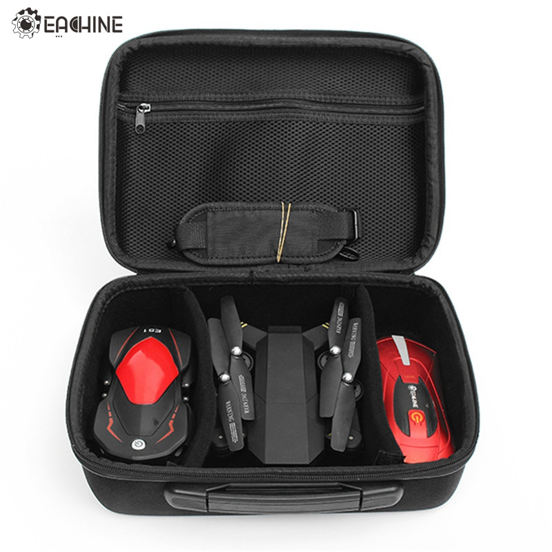 Handbag Carrying Case Box Shoulder Bag For Eachine E50 E51 E52 E55 VISUO XS809HW Foldable Arm RC FPV Drone Quadcopter Helicopter 2017waterproof hardshell handbag carry box pouch cover bag case for dji spark quadcopter drone 2 batteries and other accessories