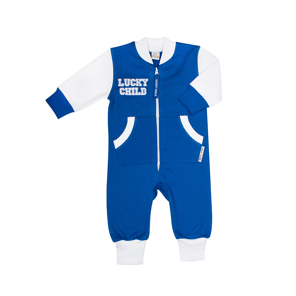 Jumpsuit Lucky Child for girls and boys 8-1 (3M-24M) Children's clothes kids clothes overalls lucky child for girls and boys 8 1 baby rompers children clothes