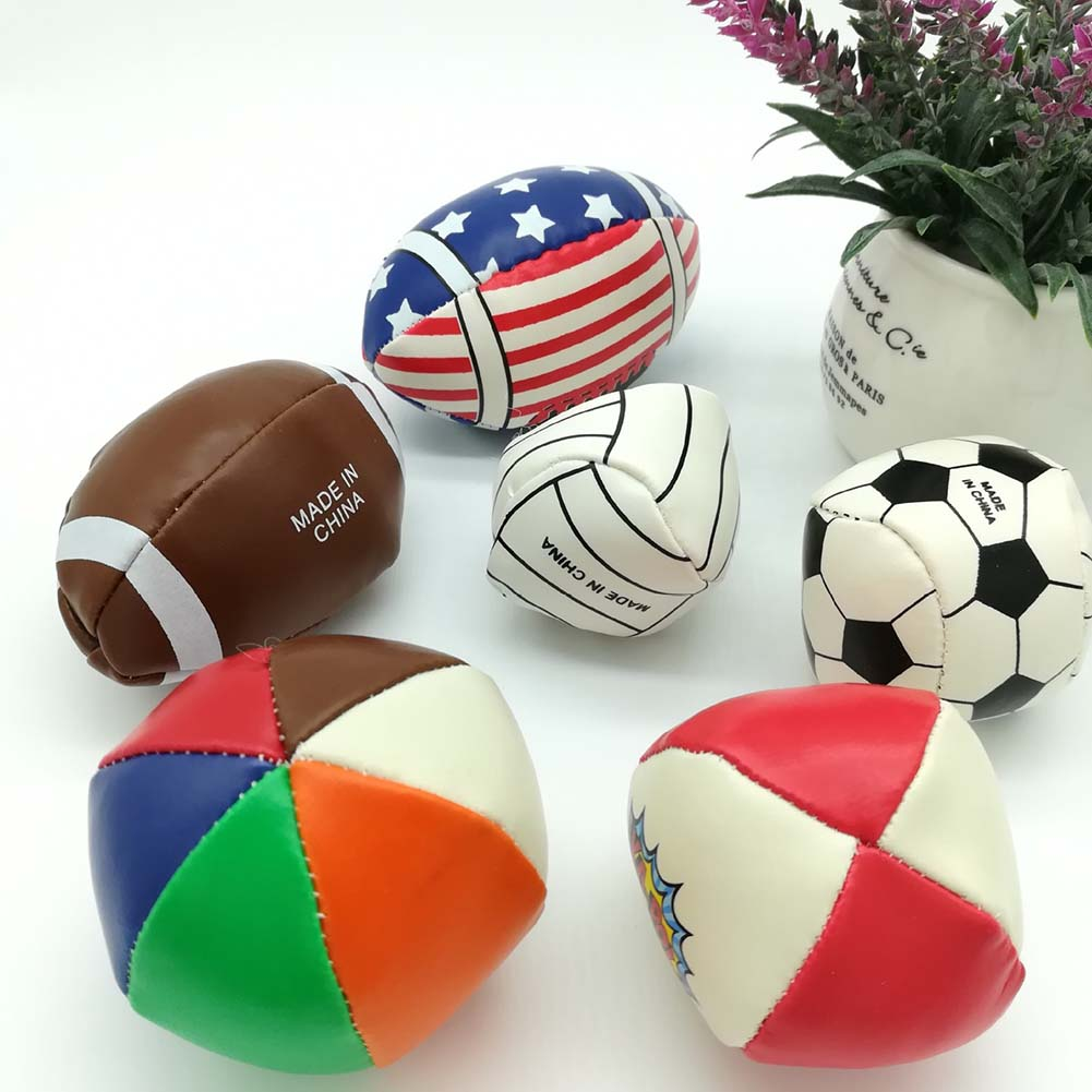 6pcs Baby toy ball set develop babys tactile senses toy baby touch hand ball toys baby training ball massage soft ball