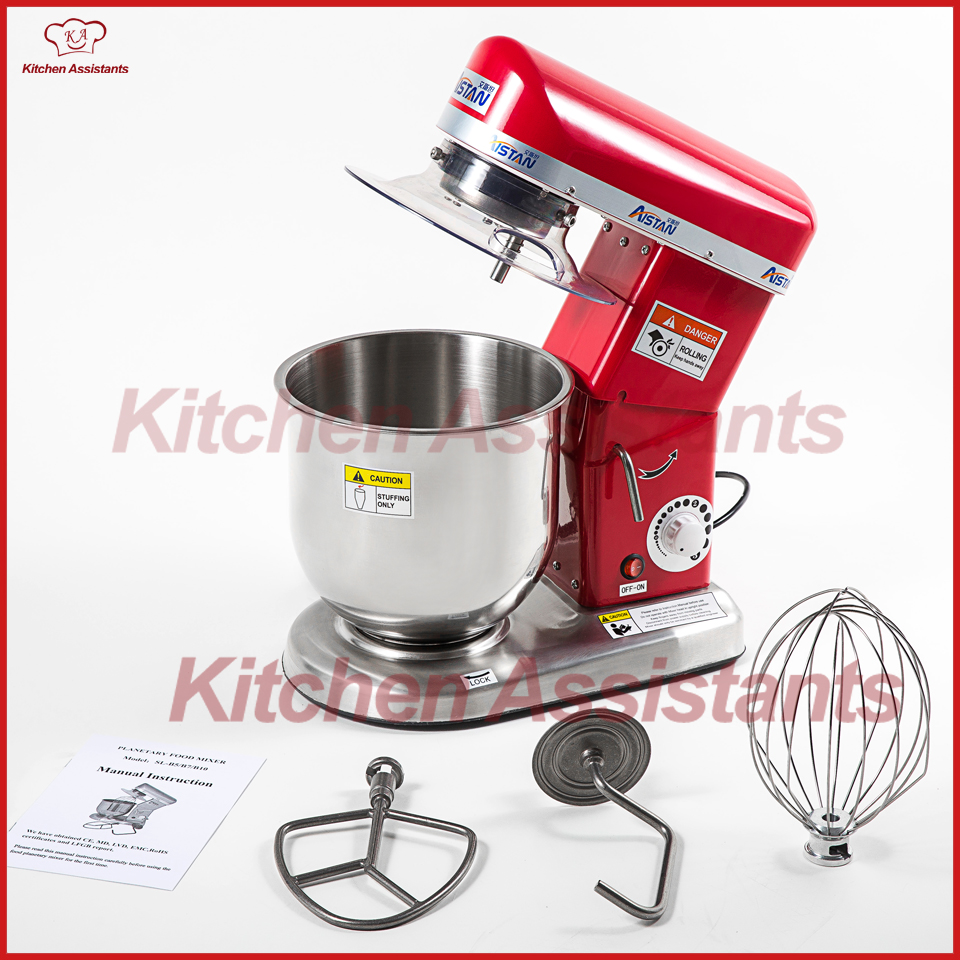 Electric Stand Mixer With Removable Head ~ L electric planetary food mixer machine blender spiral