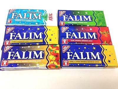 Falim Sugarless Chewing Gum , Sugar Free (7x5 Pack) 35 Gums, Gift Option