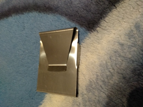 Stainless Steel ID Credit Card Wallet Double Sided Change Money Clip photo review