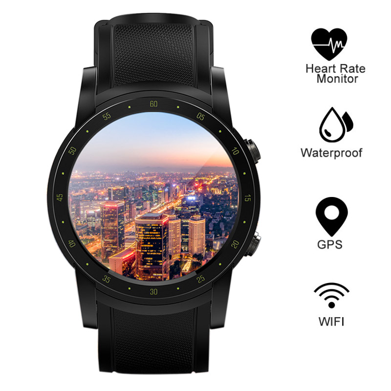 Smart Watch Men GPS Built-in Heart Rate Monitor Pedometer 3G WIFI Bluetooth Sport Watch For Running Support SIM Card Wrist Watch smart watch men gps built in heart rate monitor pedometer 3g wifi bluetooth sport watch for running support sim card wrist watch