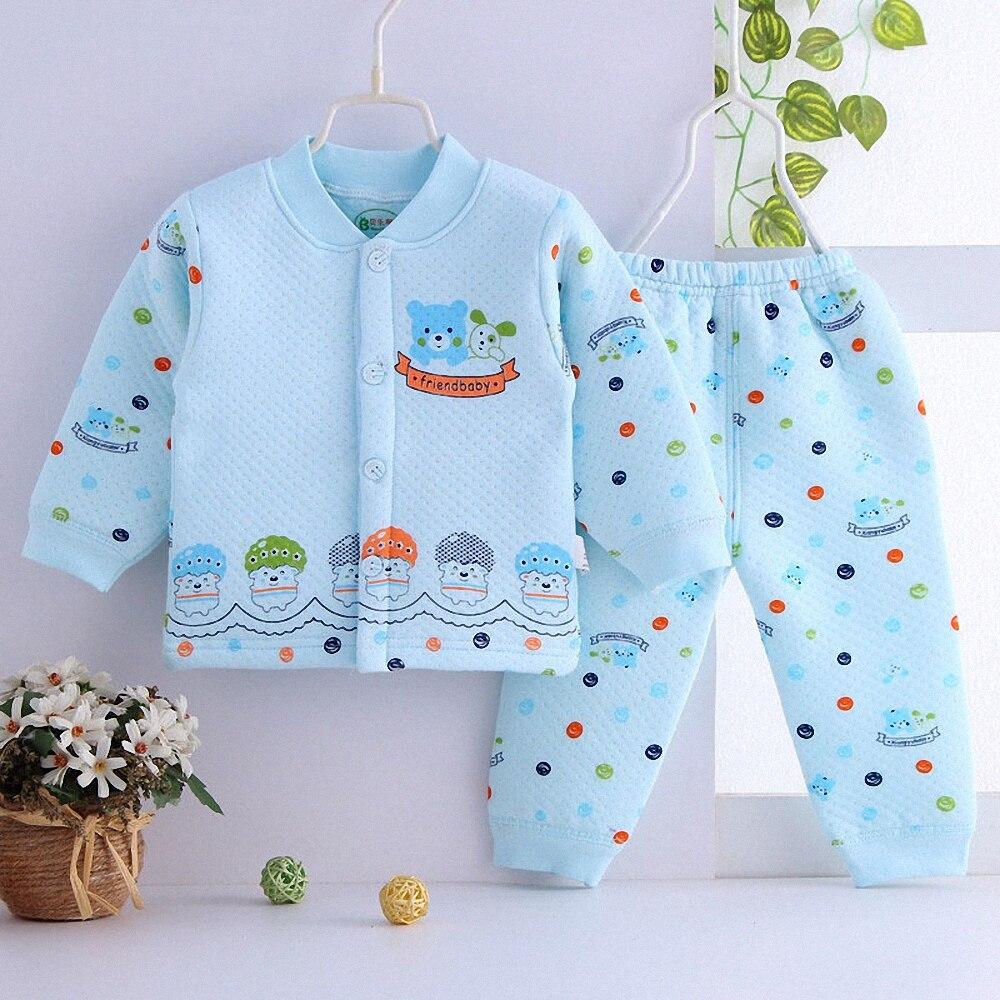294bc9986495 6-24M Baby boys girls suit Autumn new style warm sets Hot baby single  breasted. US  8.46. Newborn baby autumn winter 3pcs clothing set ...
