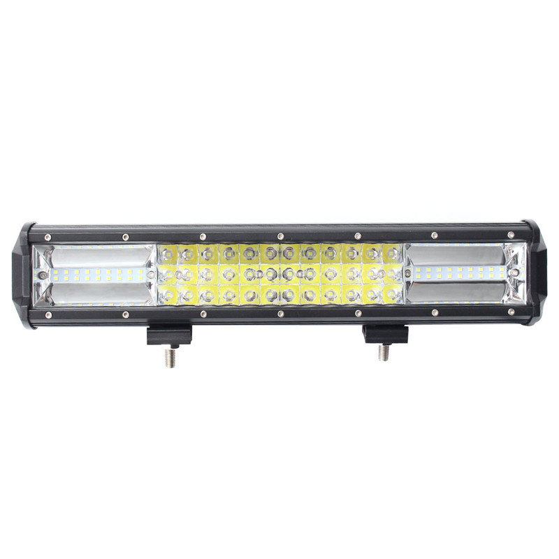 IP68 108W Tri Row 7D LED Work Light Bar Spotlight Flood Lamp Combo Driving Fog Offroad LED Car Lights For SUV ATV Truck spotlight flood lamp combo tri row 7d led work light bar driving fog offroad led car lights ip68 108w for suv atv truck