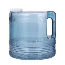 Azdent garrafa de plástico 4l, destilador para água elétrica pura, peças para máquina de água, jarro de plástico, laboratório dental