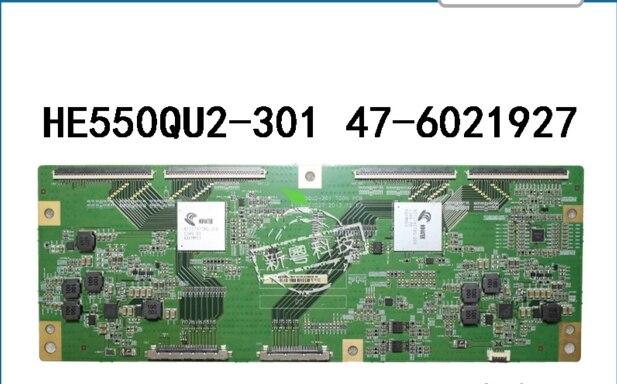 Carte logique HE550QU2-301 TCON PCB 47-6021027 pour/connexion avec carte de connexion T-CONCarte logique HE550QU2-301 TCON PCB 47-6021027 pour/connexion avec carte de connexion T-CON