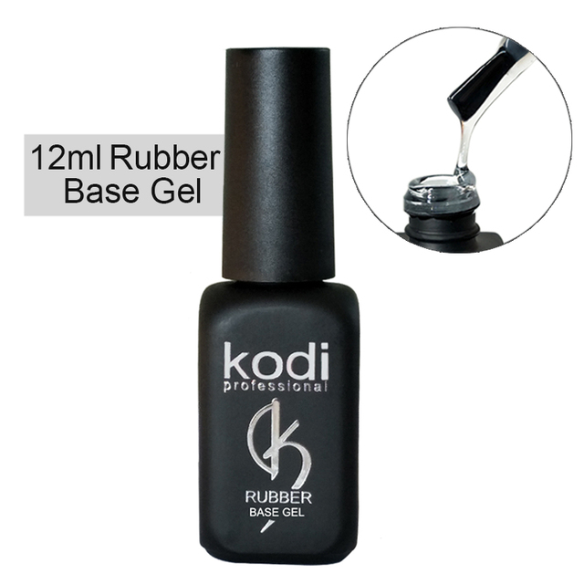 Kodi gel rubber top base gel nail polish coat primer builder gellak ...