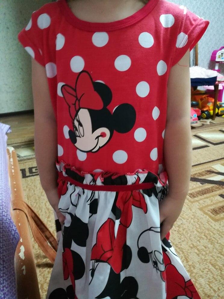 Girls Dresses 2018 New Girls Costumes Minnie Dot Children's Dresses Tutu Princess Children's Dresses
