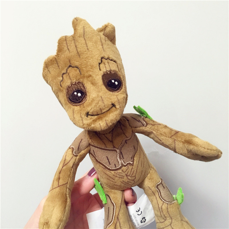 22CM Guardians of the Galaxy Volume 2 Groot stuffed toys Little Tree Man Plush Toy Doll Muppet toy dolls Gifts for children in Movies TV from Toys Hobbies