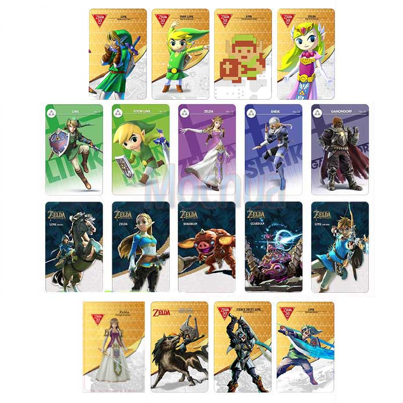 NTAG215 NFC Card Work For Zelda Legend- Heart Wolf Link Fierce Deity черепаха плетёная zelda