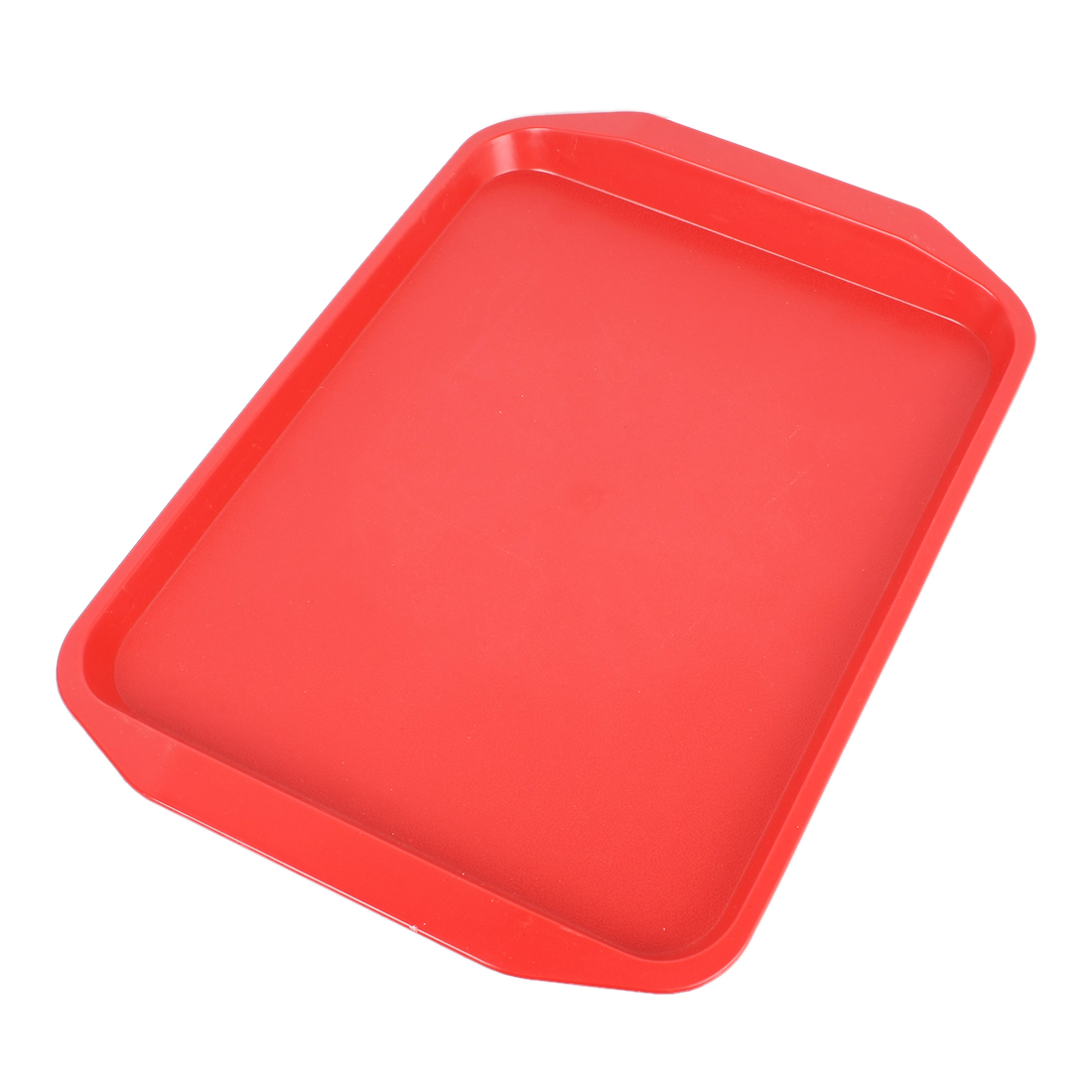 uxcell plastic rectangle designed dinner food court serving tray red serving traychina