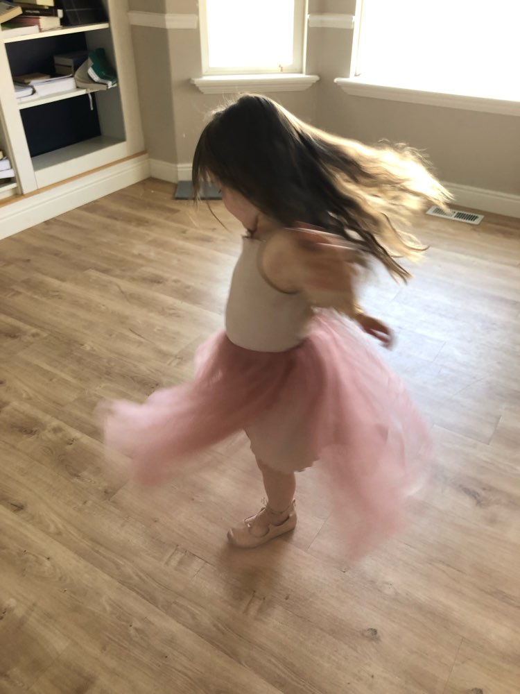 Girl's Ball Dress with Tutu Skirt photo review