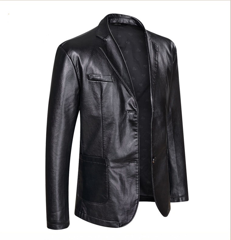 10XL 8XL 6XL 5XL 4XL Brand PU Leather Jacket Men Autumn Winter Casual Mens Jackets Solid Clothes Elastic Motorcycle Outerwear 1