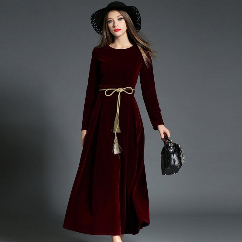 Velvet Dinner Dress