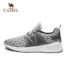 CAMEL Men & Women Running Shoes Lightweight Breathable Mesh Athletic Walking Jogging Training Sneakers