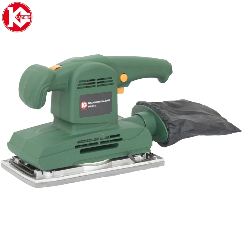Electric tool finishing sander Kalibr MPSh-300R for wood, plastic, metal, electrical grinding machine