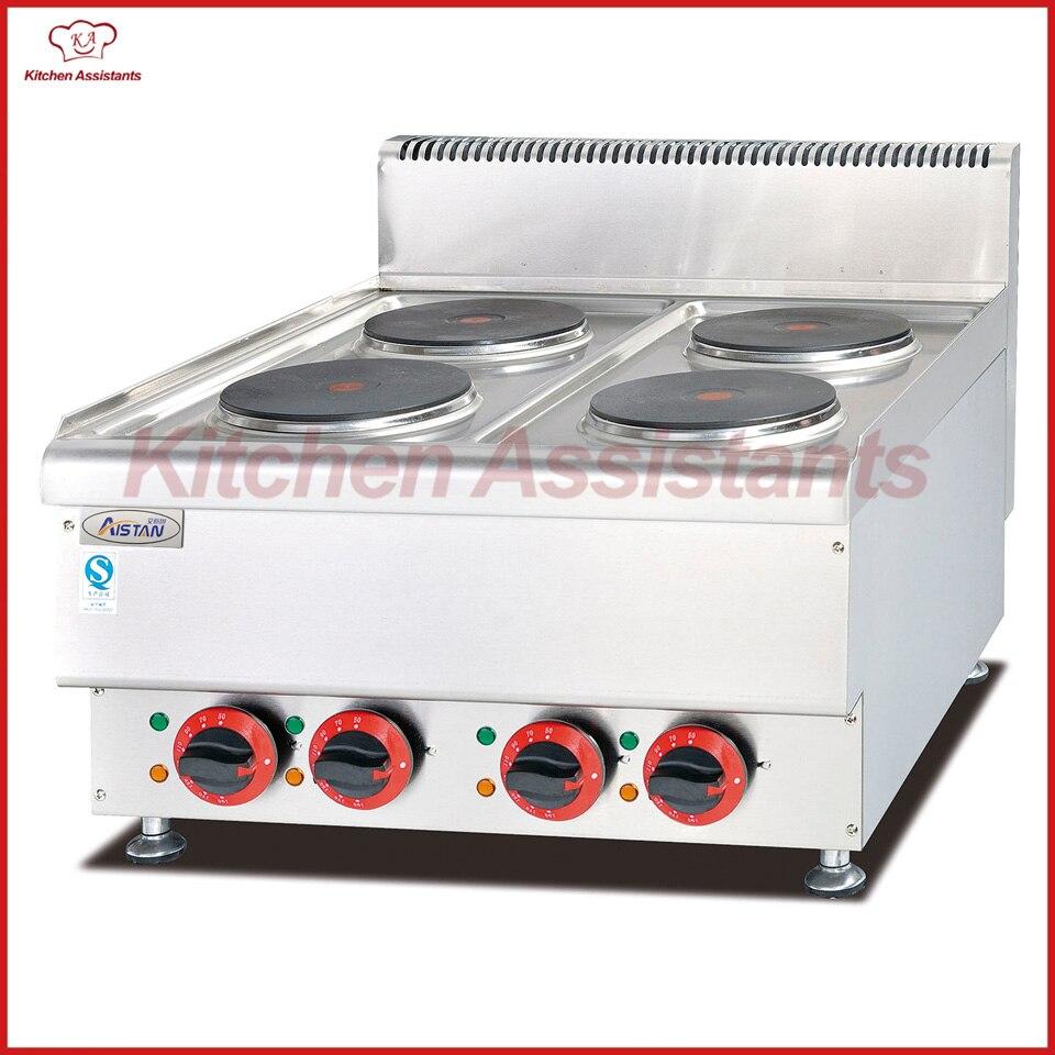 Großgeräte Haushaltsgeräte Qualifiziert Eh667 Elektrische 4 Platten-herd Von Kochen Ausrüstung Maschine
