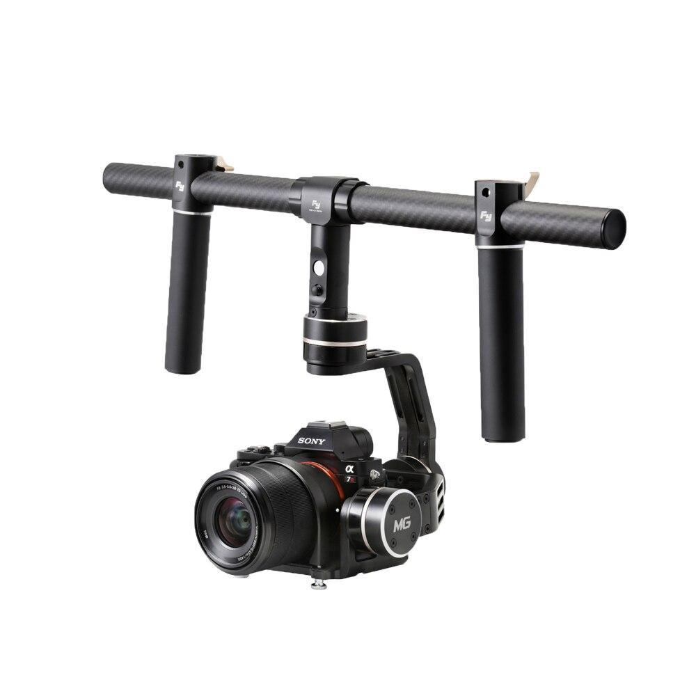 Feiyu FY-mg <font><b>V2</b></font> Бесщеточный Gimbal Стабилизаторы для Sony A7 A7R a7s A7 II a7s II A7R II Panasonic gh4 GH3 беззеркальных Зеркальные фотокамеры
