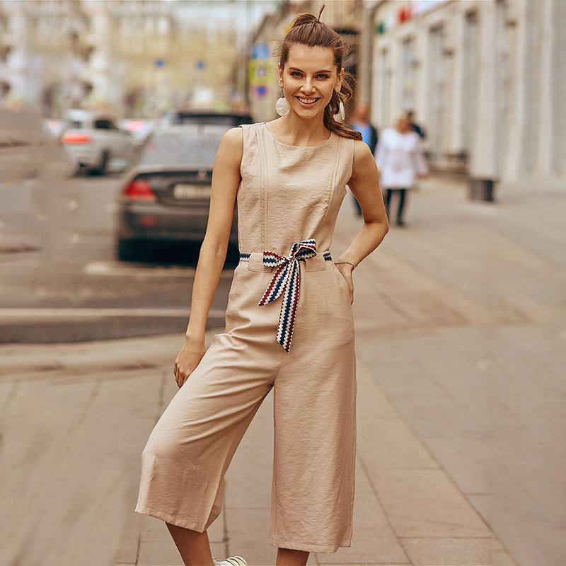 Jumpsuit C.H.I.C female CHIC TmallFS summer chic cut out strapless solid color backless jumpsuit for women