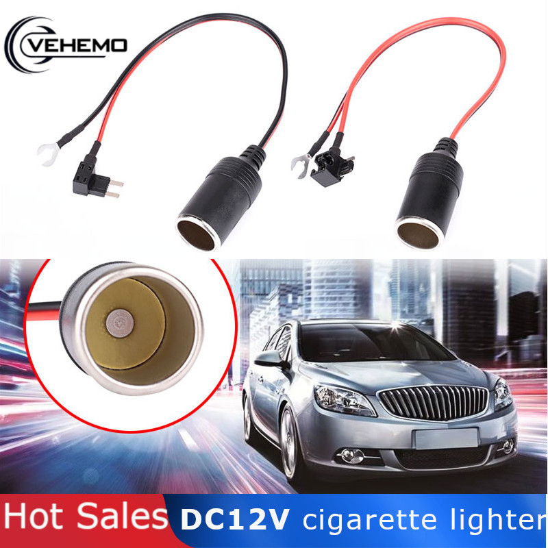 Socket Power-Connection-Fuse 12V Adapter-Plug Cigarette-Lighter-Seat Auto-Parts Positioning