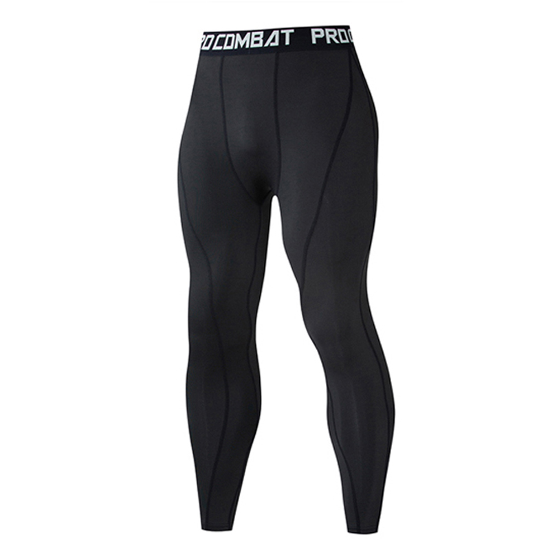 Compressed Pants Athletic Men's Gym Leggings Bike Underpants Running Sports Male Gym Fitness Jogging Pants Quick Dry Trousers Workout Training Yoga Bottoms