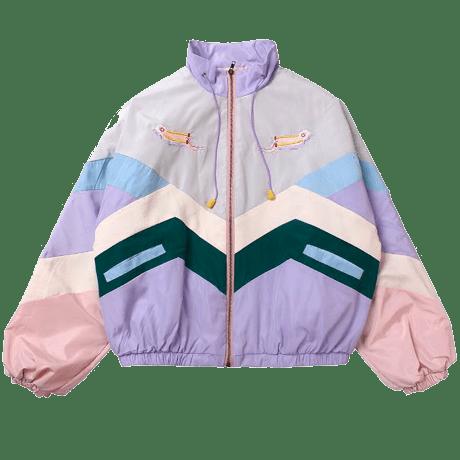 Pastel Aesthetic Japanese Baseball Sport jacket