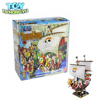 TAIHONGYU Anime One Piece Thousand Sunny Pirate Ship Meryl Boat Model Action Figure Collection Model Toy with Box
