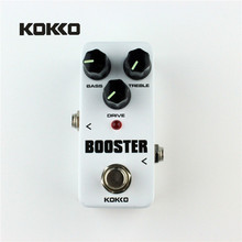 KOKKO FBS2 Mini Guitar Effect Pedal Guitarra Booster High-Power Tube Electric Guitar Two Segment EQ Effect Device Parts