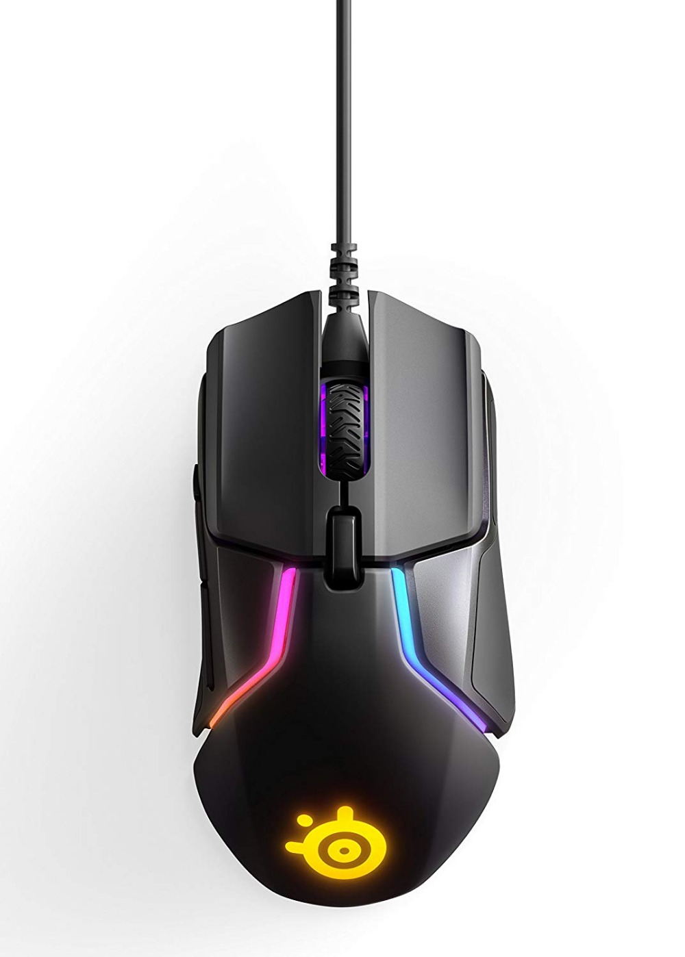 SteelSeries Rival 600 Gaming Mouse - 12,000 CPI TrueMove3+ Dual Optical Sensor - 0.5 Lift-off Distance мышь steelseries rival 100 proton yellow usb [62340]