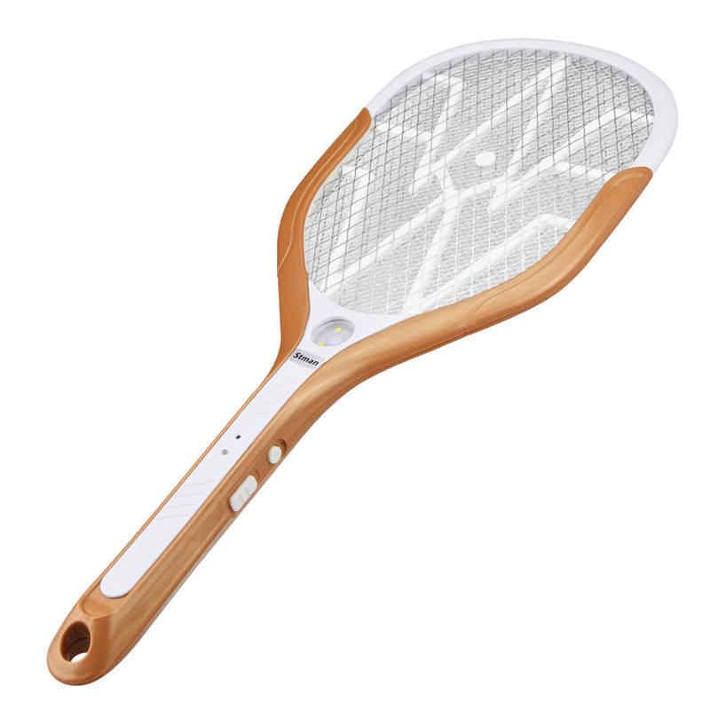 CLAITE USB быстрой зарядки электрический комары мухи пестицид Электрическая мухобойка с тремя светодиодный огни Главная практическая Электроника