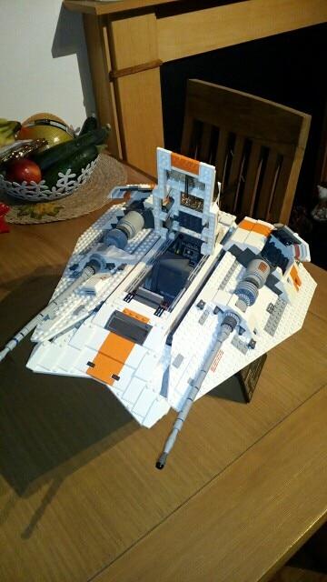 LEPIN 05084 Star Wars The 10129 Snowspeeder Block Set (1457Pcs) photo review
